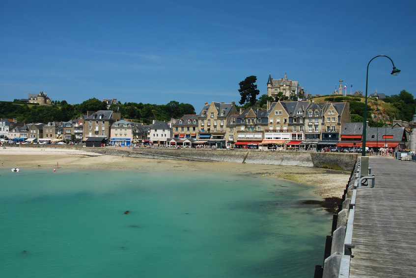 The harbour of Cancale